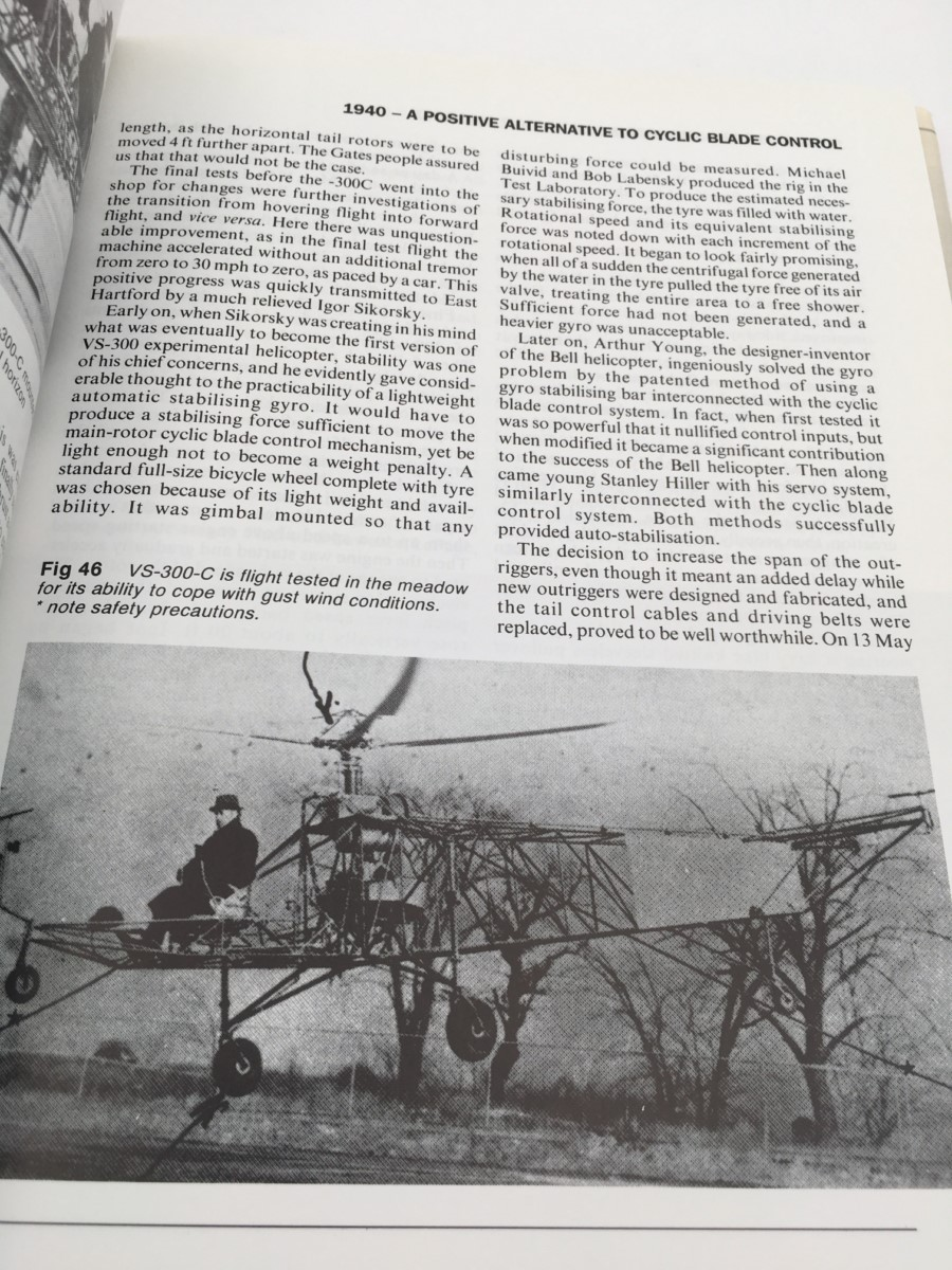 HEELICOPTER PIONEERING WITH IGOR SIKORSKY
